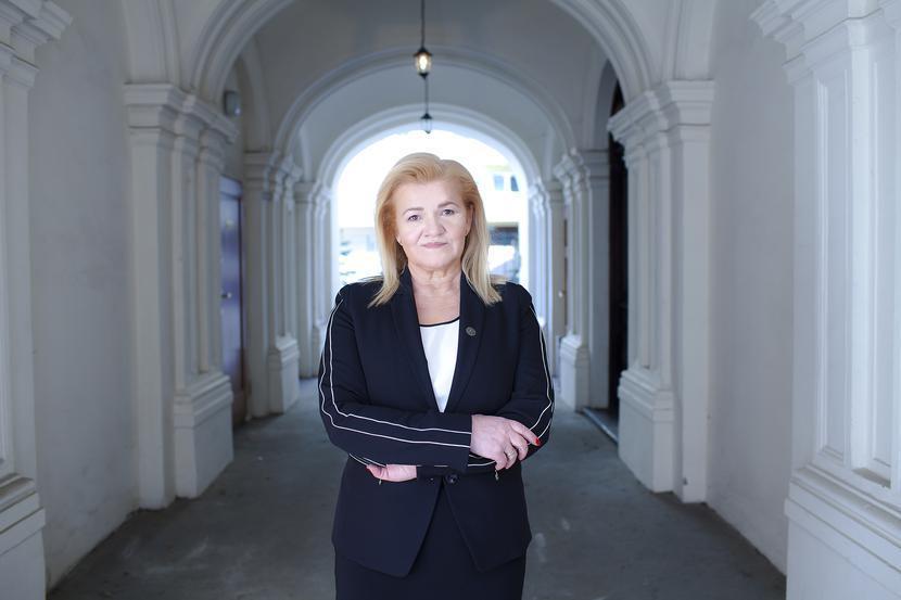 Prezes Alina Niewiadomska