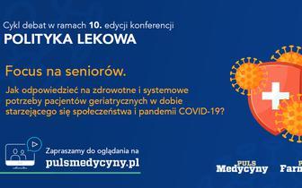 """Konferencja """"Polityka lekowa"""". Focus na seniorów"""