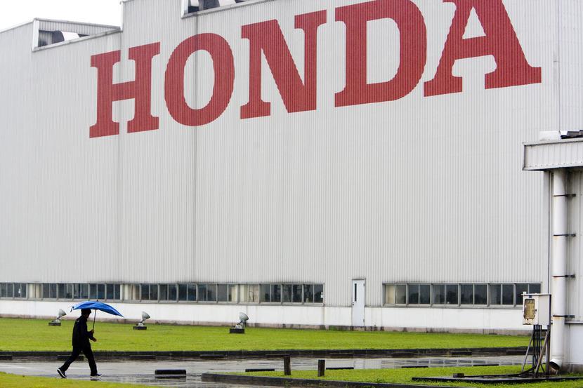 Fabryka części koncernu Honda Motor w chińskim Foshan.