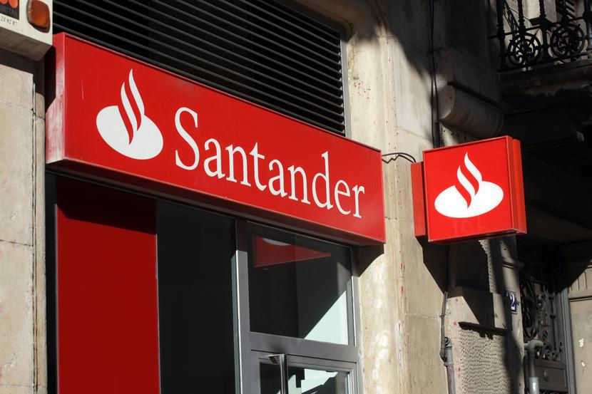 Oddział banku Santander