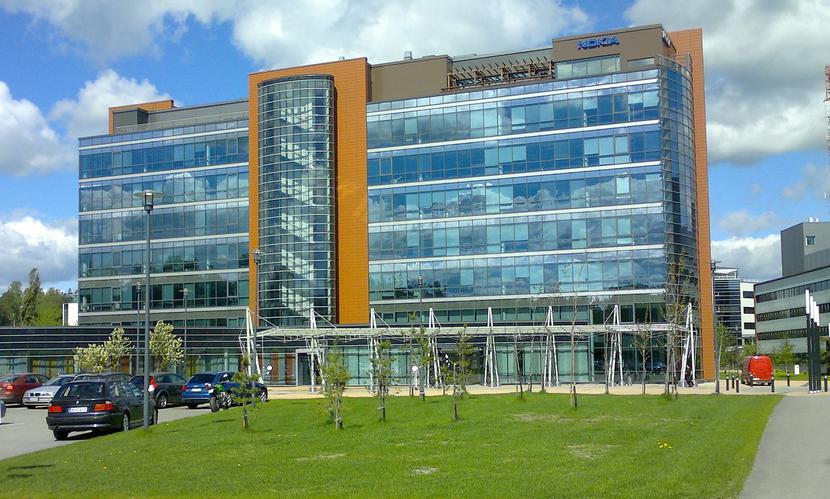 Nokia - siedziba główna w Espo, Finlandia