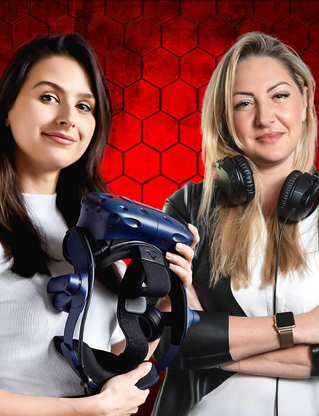 Karolina Koszuta iJoanna Tynor: gry mają coś zkobiety