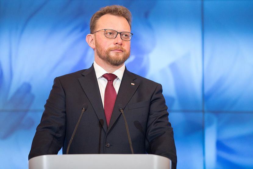 Minister zdrowia Łukasz Szumowski