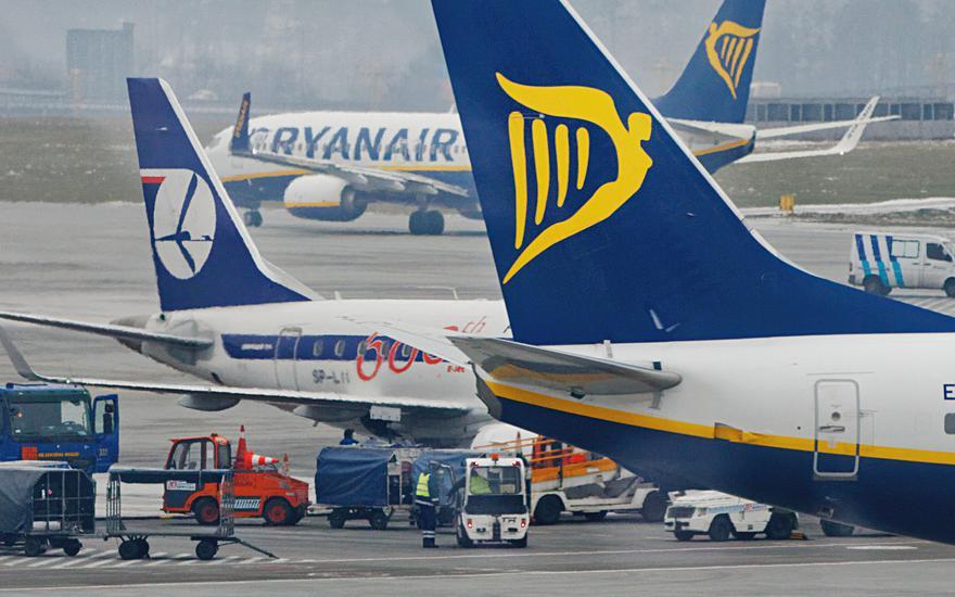Ryanair zaskarżył LOT w TSUE
