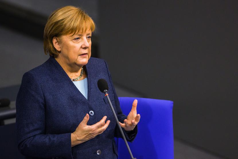 Angela Merkel, fot. Rolf Schulten/Bloomberg