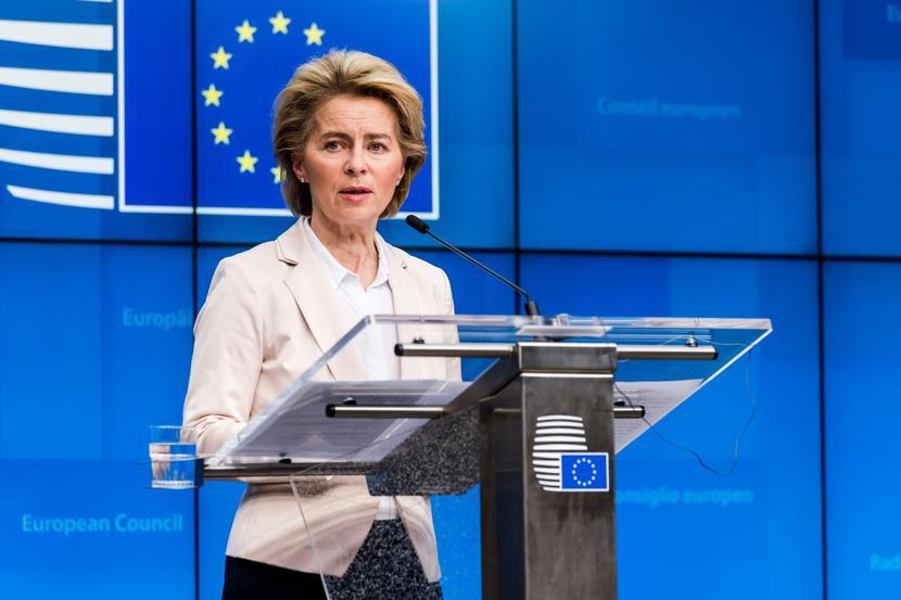Ursula von der Leyen, szefowa Komisji Europejskiej