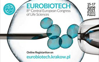 8th Central European Congress of Life Sciences Eurobiotech 2021 w EXPO Kraków