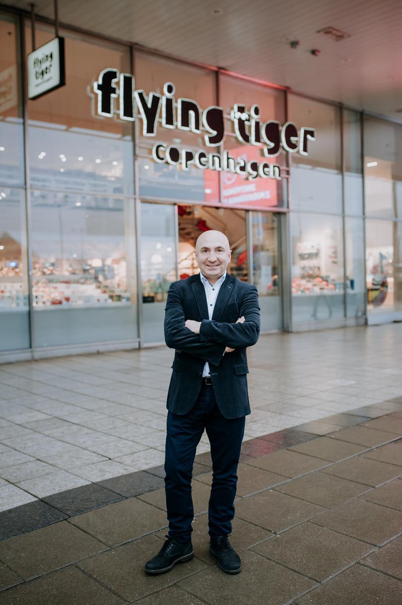 Igor Kostenyuk, Country Manager Flying Tiger Copenhagen