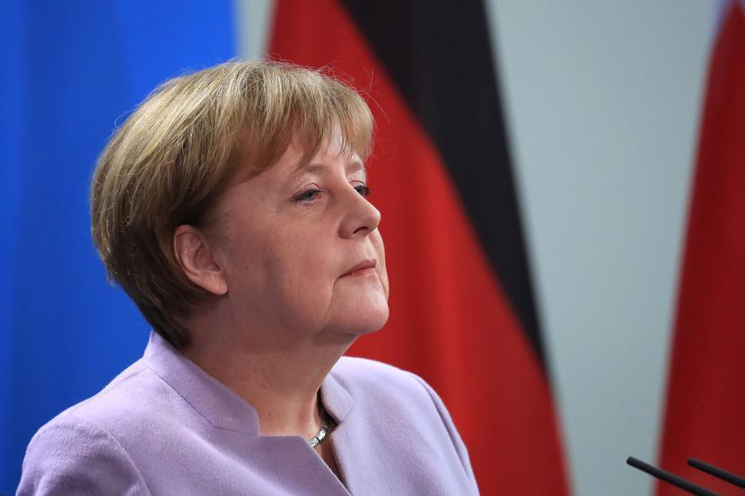 Angela Merkel, fot. Bloomberg