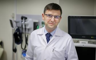 Dr hab. Ernest Kuchar p.o. zastępcy dyrektora ds. lecznictwa dziecięcego Szpitala Klinicznego UCK WUM