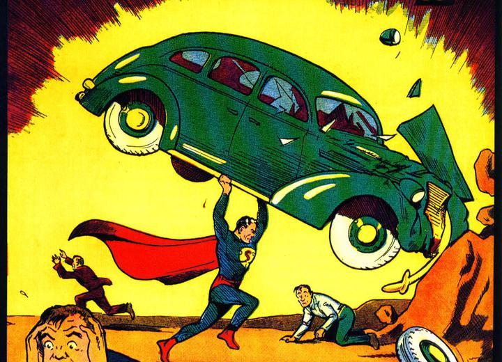 Pierwszy komiks zSupermanem sprzedany za3,25 mln USD