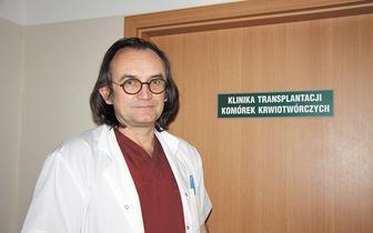 Dr Kazimierz Hałaburda: Pandemia mogła ograniczyć nawet 20 proc. transplantacji szpiku