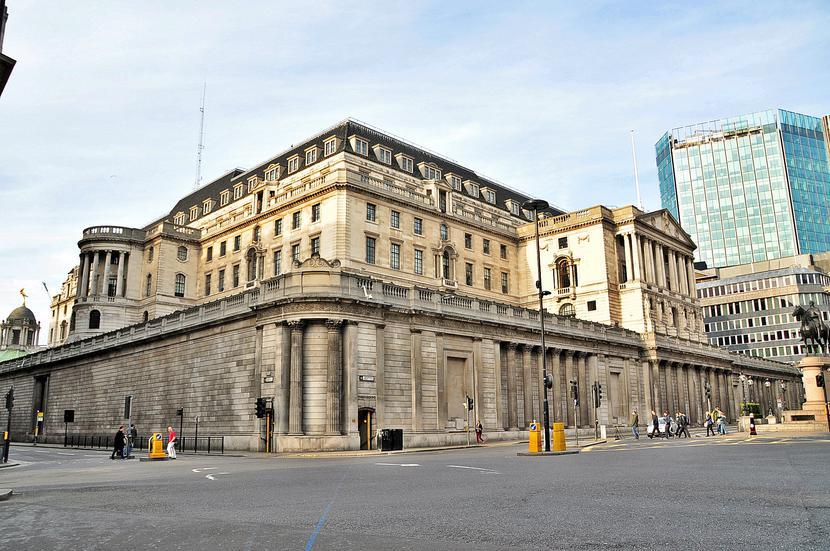 Główna siedziba Banku Anglii w Londynie
