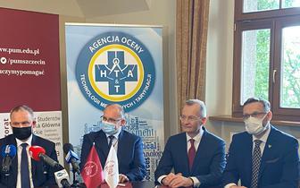AOTMiT będzie współpracować z PUM w Szczecinie. Zajmą się m.in. analizą oceny technologii lekowych