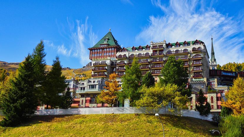 Sankt Moritz, Szwajcaria