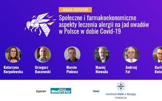 Społeczne i farmakoekonomiczne aspekty leczenia alergii na jad owadów w Polsce w dobie COVID-19 [DEBATA EKSPERTÓW]