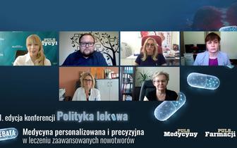 """Konferencja """"Polityka lekowa"""". Medycyna personalizowana jako przyszłość leczenia onkologicznego"""