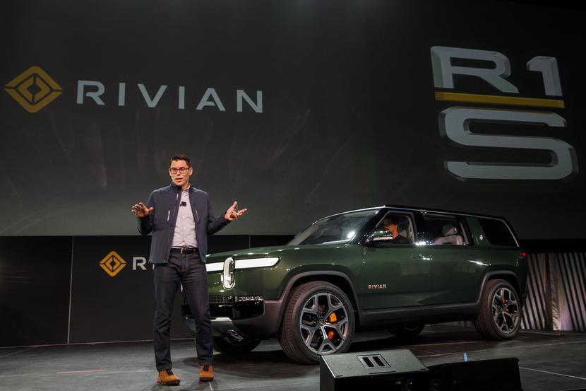 RJ Scaringe, założyciel i prezes Rivian Automotive