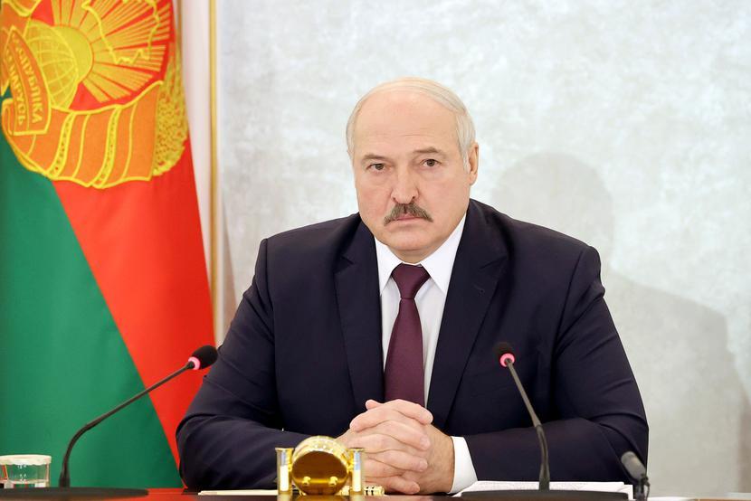 Prezydent Białorusi Alaksander Łukaszenko