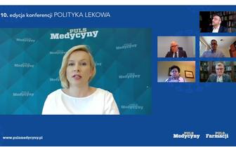 """Konferencja """"Polityka lekowa"""". Co zmieni się w kalendarzu szczepień w 2021 roku?"""