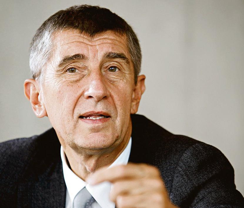 Andrej Babiš, fot. Bloomberg