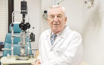 Prof. Jerzy Szaflik: Miniaturyzacja spowodowała rewolucję w okulistyce, w której brałem udział