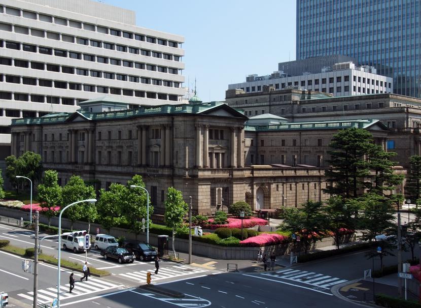 Bank Japonii, Tokio