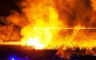 Creotech gasił pożar nad Biebrzą