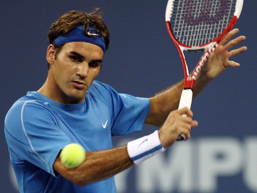Roger Federer, fot. Bloomberg