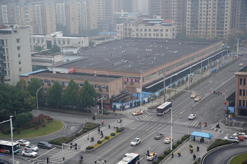 Targ w Wuhan