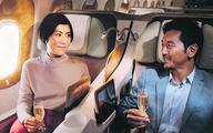 Lotnicze pokłady winem płynące