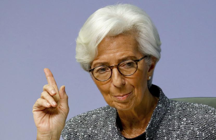 Christine Lagarde, fot. Bloomberg