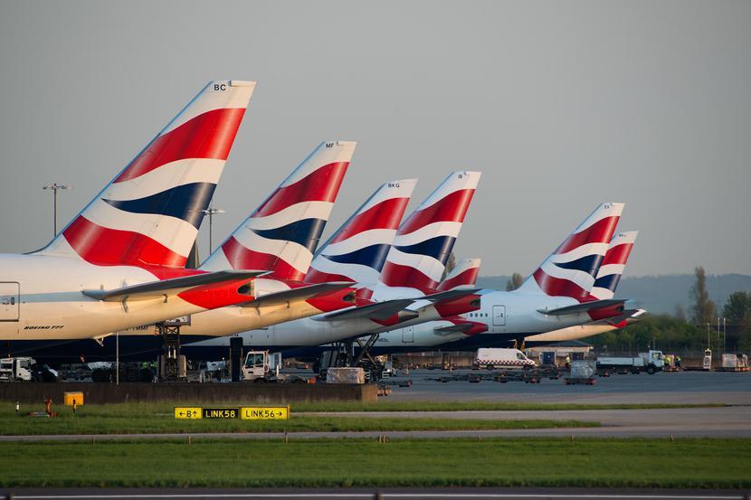 Samoloty linii British Airways