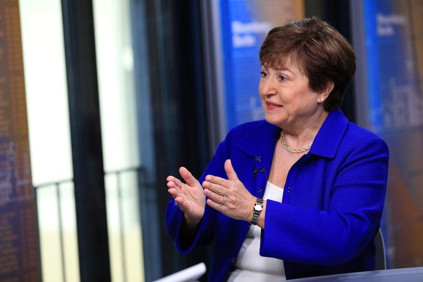 Kristalina Georgiewa, szefowa Międzynarodowego Funduszu Walutowego (MFW)