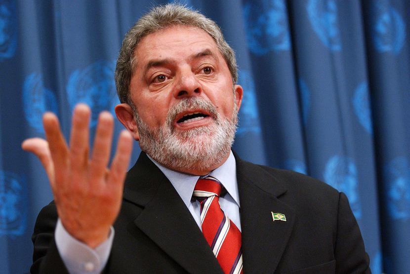 Luiz Inacio Lula da Silva, fot. Bloomberg