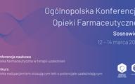 IV Ogólnopolski Konkurs Opieki Farmaceutycznej