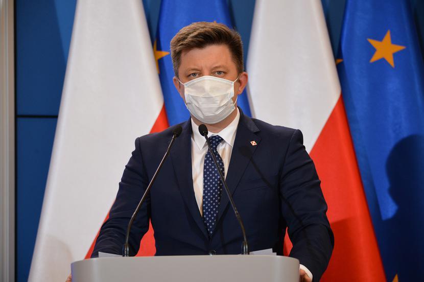 Michał Dworczyk, fot. Aleksiej Witwicki / Forum