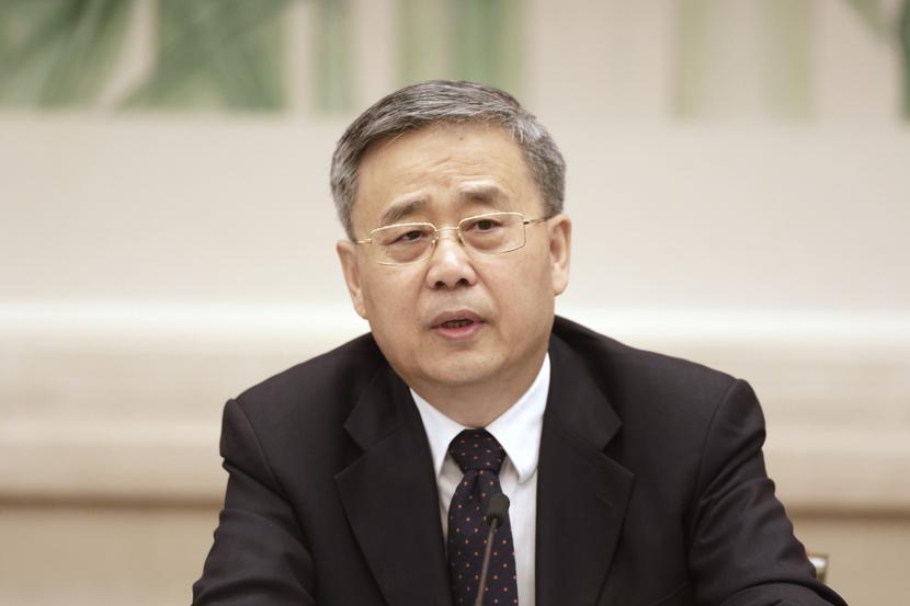 Guo Shuqing, fot. Bloomberg