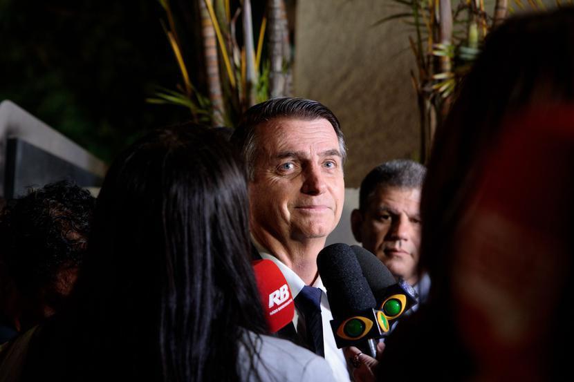 Jair Bolsonaro, fot. Bloomberg