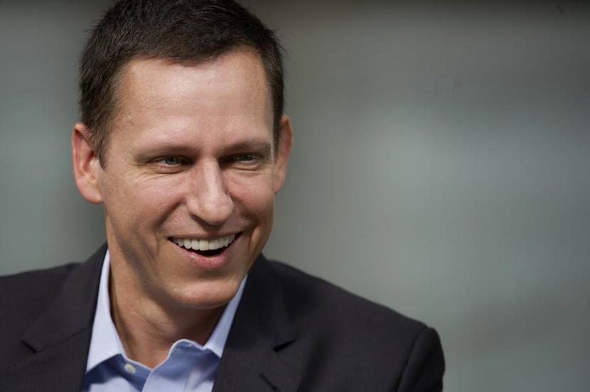 Peter Thiel, fot. Bloomberg