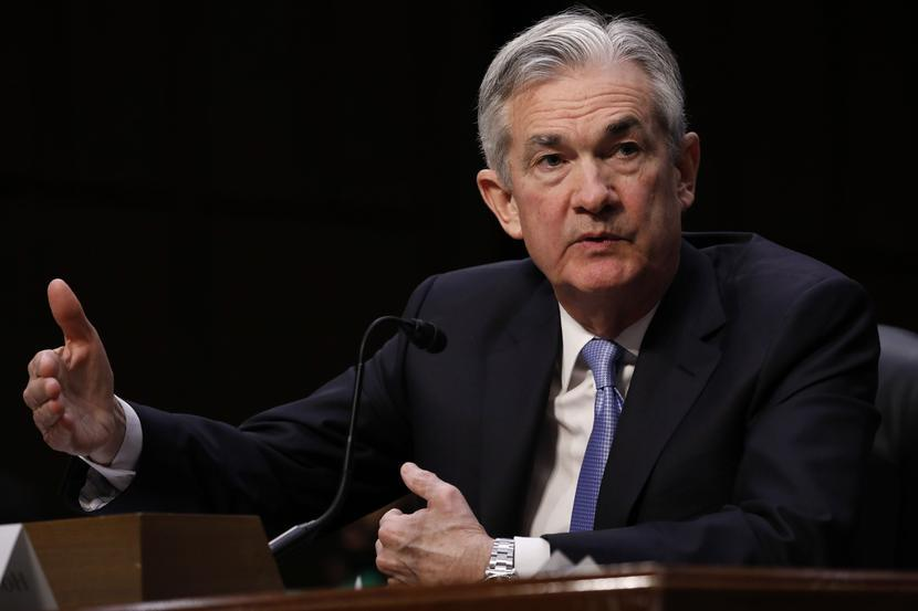 Jerome Powell, fot. Bloomberg