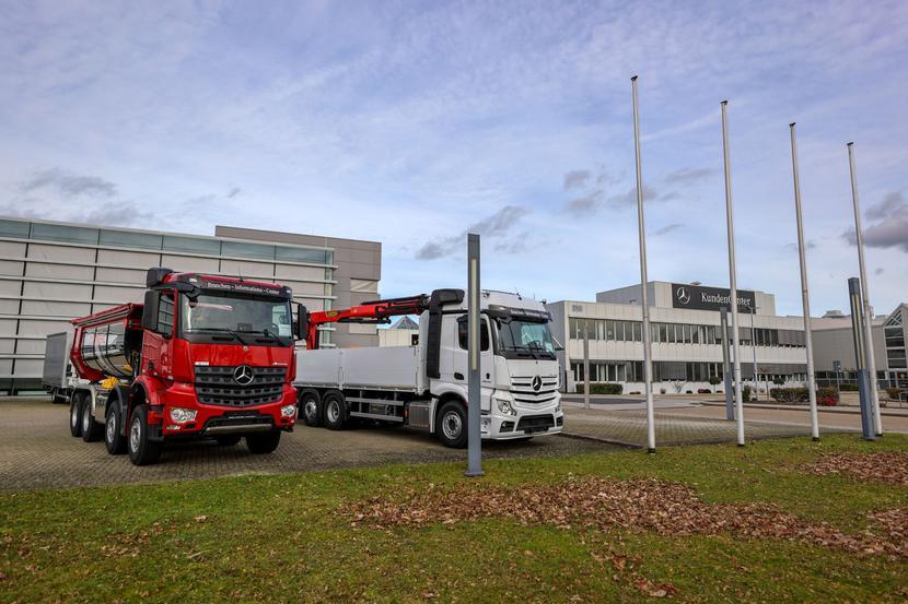 Samochody ciężarowe marki Mercedes (Daimler Truck)