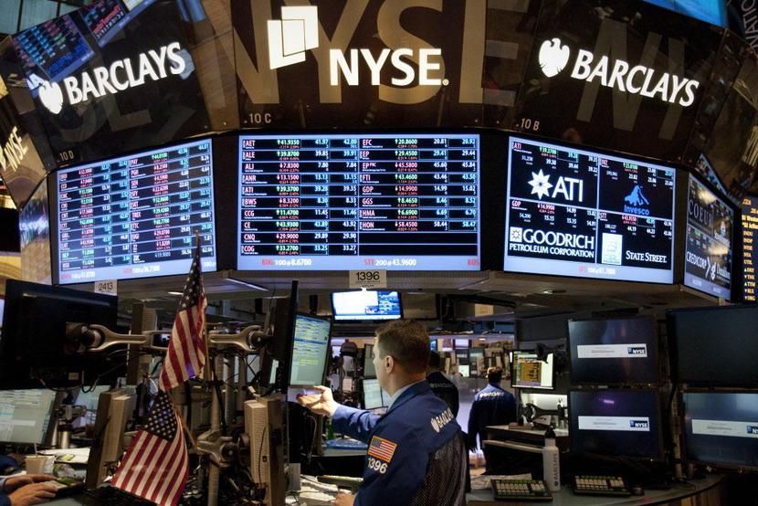 NYSE, Wall Streetfot. Bloomberg