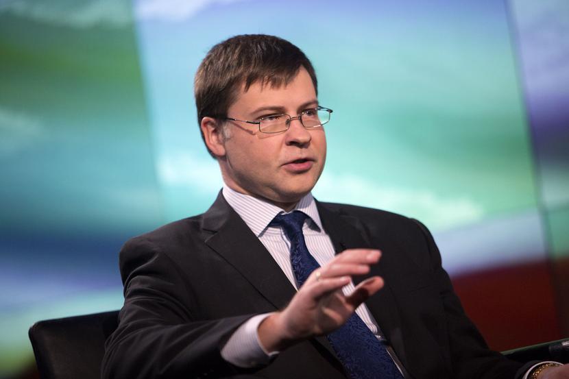 Valdis Dombrovskis, fot. Bloomberg