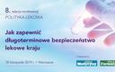 "VIII konferencja ""Polityka lekowa"": PROGRAM"
