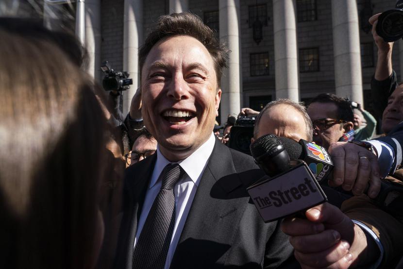 Elon Musk, fot. Bloomberg