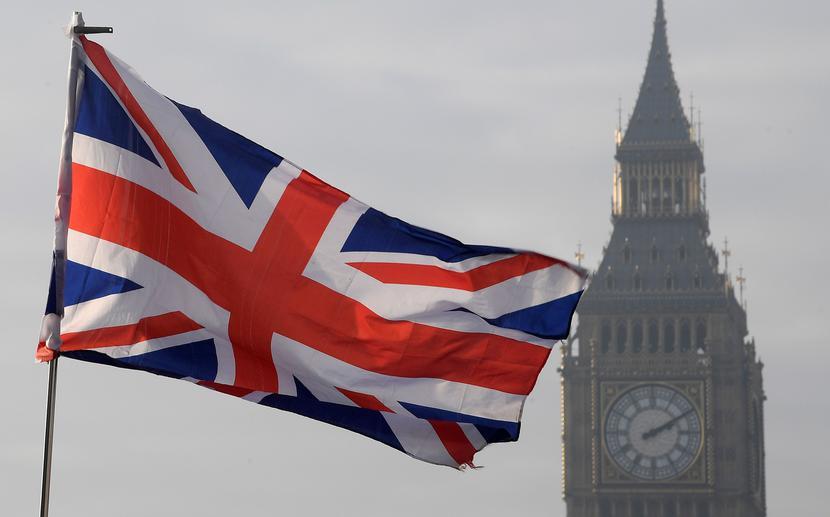 Wielka Brytania, flaga brytyjska, Big Ben, Londynlistopad 2020fot. REUTERS/Toby Melville/File Photo/Forum