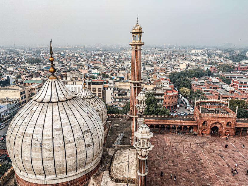 Indie, Delhi