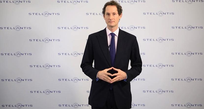 John Elkann, prezes koncernu motoryzacyjnego Stellantis