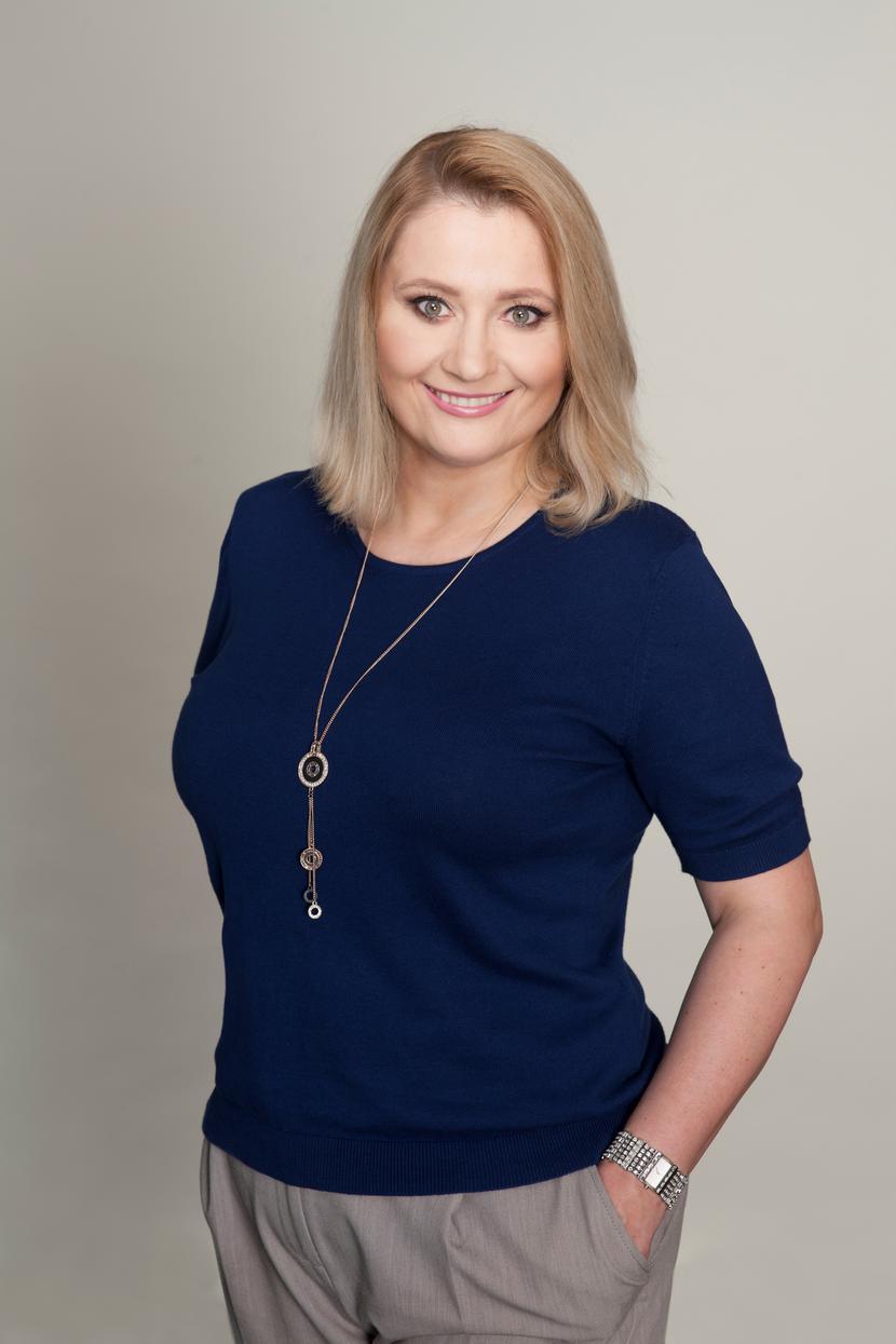 Anna Olszewska, dyrektorka Departamentu Komunikacji, KIR